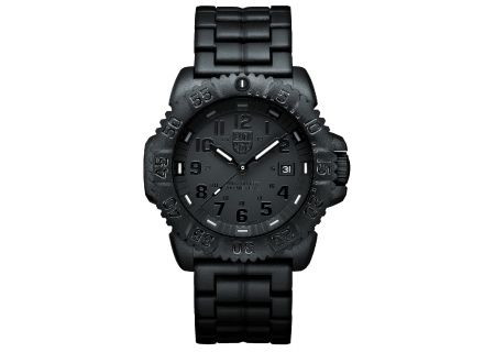Luminox 3050 Series Navy Seal Colormark Black Mens Watch - 3052BO