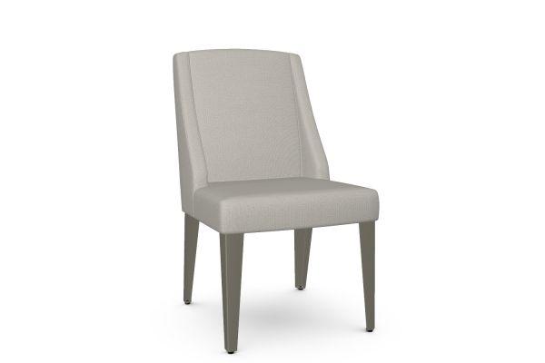 Large image of Amisco Bridget Sleet/Titanium Dining Chair - 30575-56/BA