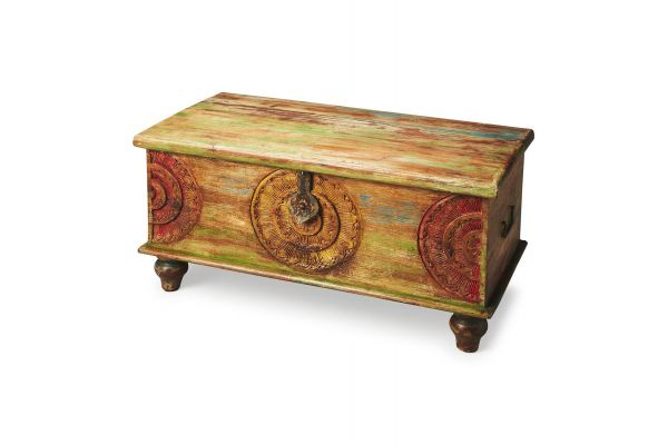 Large image of Butler Specialty Company Mesa Artifacts Trunk Coffee Table - 3140290
