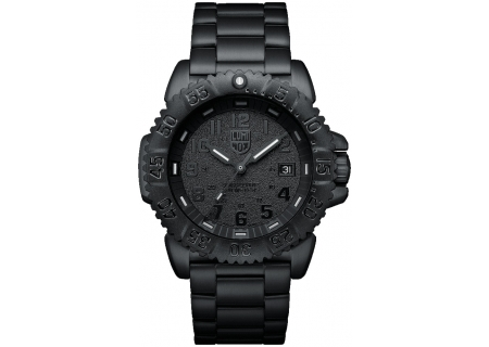 Luminox Navy Seal Steel Colormark 3150 Series Black Mens Watch - 3152.BO