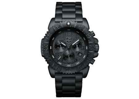 Luminox 3180 Series Navy Seal Colormark Chrono Black Stainless Steel Mens Watch  - 3182BO