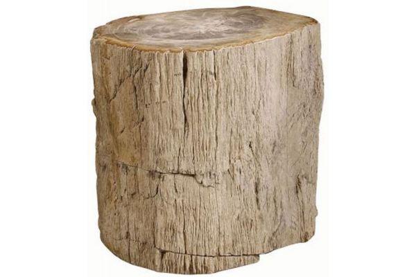 Large image of Bernhardt Petrified Wood Side Table - 319-712
