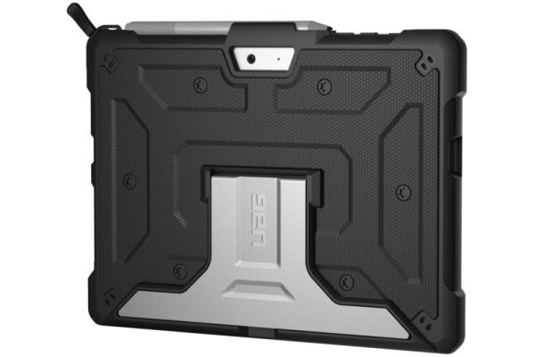 Large image of Urban Armor Gear Metropolis Microsoft Surface Go Black Case - 321076114040