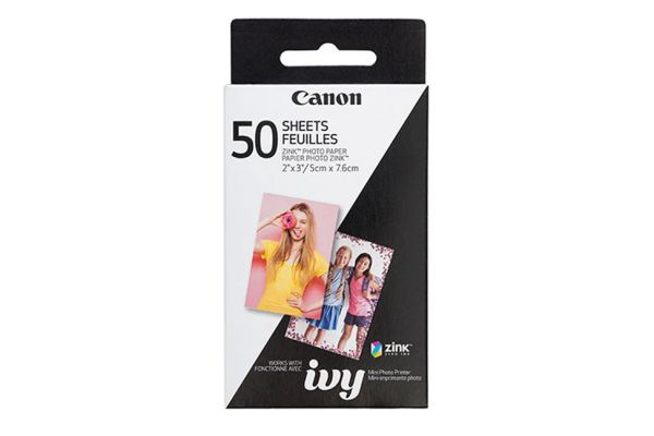 Large image of Canon ZINK 50 Sheets Photo Paper Pack - 3215C001