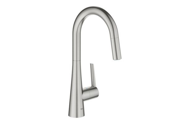 Large image of GROHE Ladylux Single-Handle Kitchen Faucet - 32226DC3