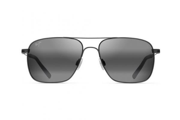 Large image of Maui Jim Neutral Grey Haleiwa Polarized Aviator Sunglasses - 32802D