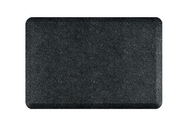 Large image of WellnessMats Granite Collection 3x2 Onyx Mat - 32WMRGO