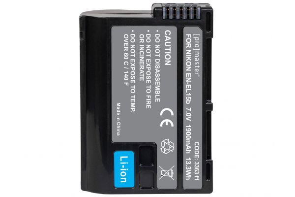 Large image of ProMaster Nikon EN-EL15B Li-Ion Battery - PRO3363