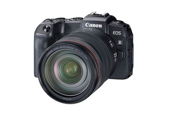 Canon EOS RP Mirrorless Digital Camera With 24-105mm Lens - 3380C012