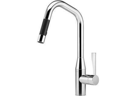Dornbracht Chrome Tara Ultra Single Lever Mixer Pull-Down Spray Faucet - 33875895-000010