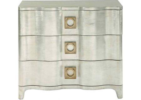 Bernhardt Antique Silver Leaf Salon Nightstand - 341-228