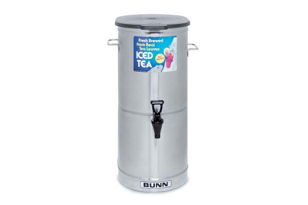 Bunn TDO-5 Iced Tea & Coffee Dispenser With Solid Lid - 34100.0001