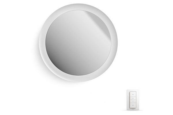 Large image of Philips Hue White Ambiance Adore Lighted Vanity Mirror - 3435831U7