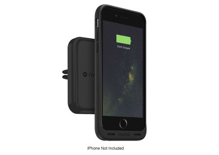 mophie - 3452_WRLS-VENT-BLK - Cell Phone Mounts