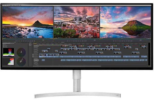 """Large image of LG 34"""" White 21:9 UltraWide 5K2K Nano IPS LED Computer Monitor - 34WK95U-W"""