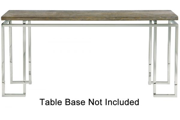Bernhardt Gray Pearl Waverly Console Table Top - 353-911T