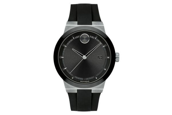 Large image of Movado BOLD Fusion 42mm Stainless Steel Mens Watch - 3600624