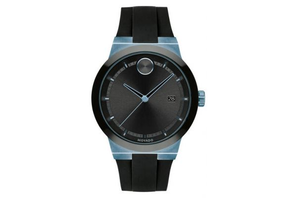 Large image of Movado BOLD Fusion 42mm Ice Blue Ion-Plated Stainless Steel Mens Watch - 3600626