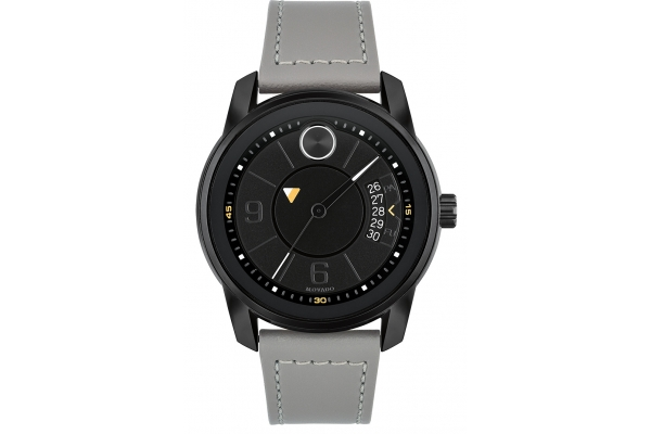 Large image of Movado BOLD Verso 42mm Black Ion-Plated Stainless Steel Mens Watch - 3600695