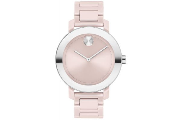 Large image of Movado BOLD Evolution Blush And Stainless Steel Womens Watch - 3600709