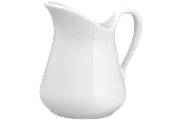 Large image of Pillivuyt 19 Oz. Porcelain Mehun Milk Jug - 360157