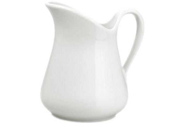 Large image of Pillivuyt 34 Oz. Porcelain Mehun Milk Jug - 360199