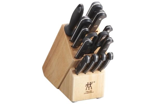 Large image of Zwilling J.A. Henckels Gourmet 14 Piece Knife Block Set - 36131-006