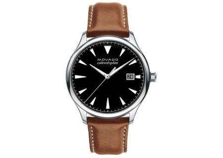 Movado Heritage Series Calendoplan Stainless Steel Mens Watch - 3650001