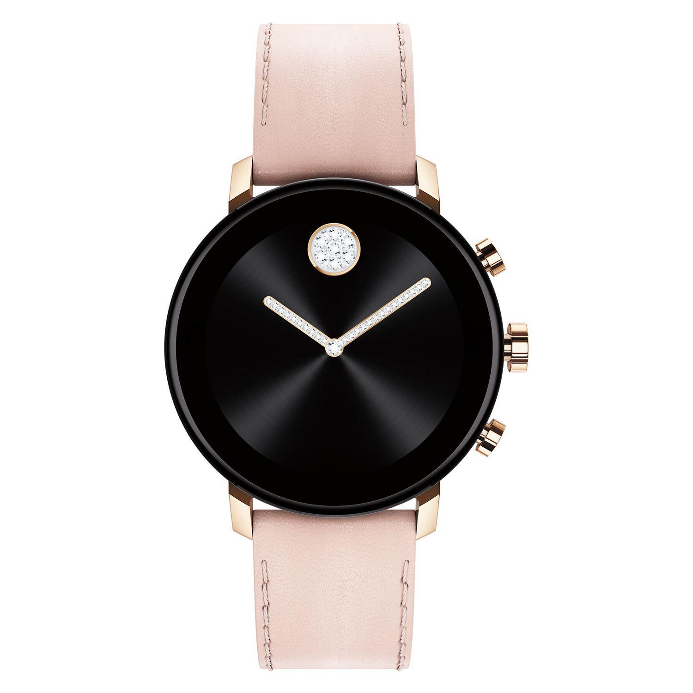 miscuglio controllore Scelta  Movado Connect 2.0 40mm Pale Rose Gold Smartwatch - 3660023