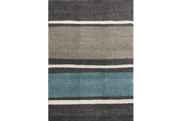 """Large image of Kalora Maroq 5'3"""" X 7'7"""" Lazy Stripes Soft Touch Rug - 3700/3A38 160230"""