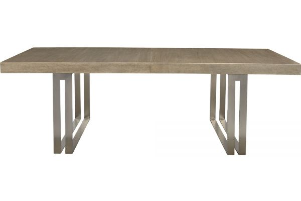 Bernhardt Dark Taupe Mosaic Dining Table  - 373-224