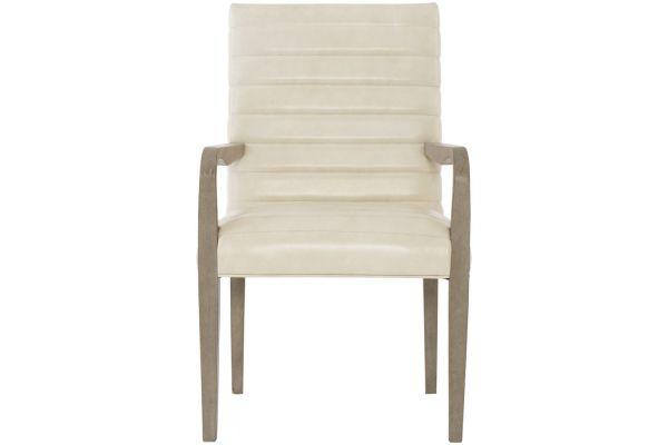 Bernhardt Mosaic Dark Taupe Arm Chair - 373-542L