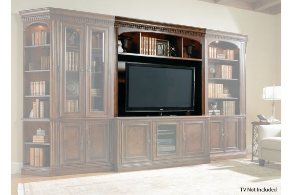 Large image of Hooker Furniture Home Entertainment European Renaissance II Console Hutch - 374-55-582