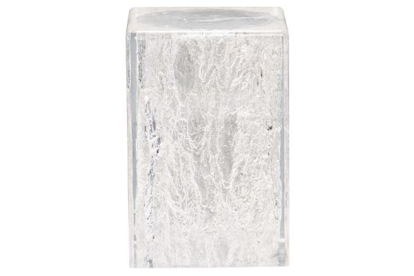 Large image of Bernhardt Arctic Solid Acrylic Chairside Table - 375-105