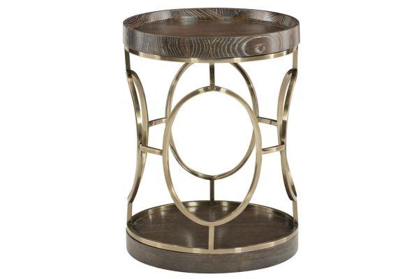 Bernhardt Clarendon Arabica Round End Table - 377-113