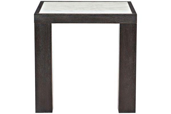 Bernhardt Decorage Cerused Mink End Table - 380-111