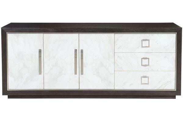 Large image of Bernhardt Cerused Mink Decorage Buffet - 380-132