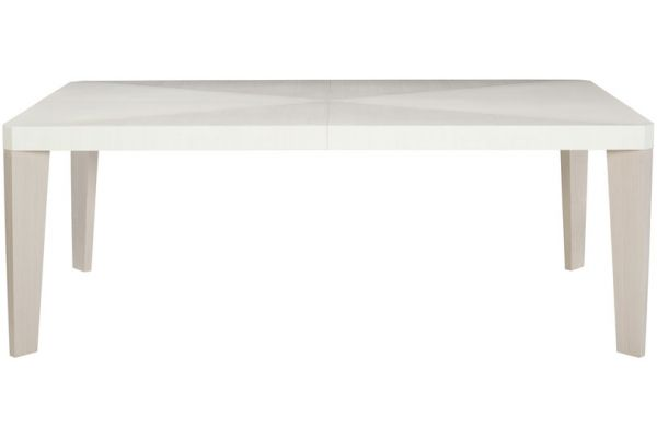 Large image of Bernhardt Linear White Decorage Console Table - 381-222