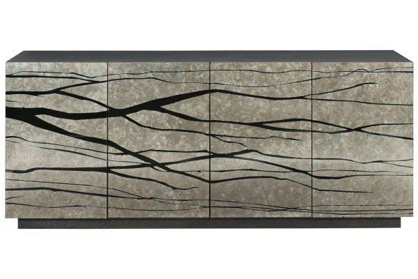 Large image of Bernhardt Sylvan Charcoal Credenza - 382-875
