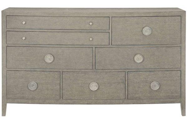Large image of Bernhardt Linea Cerused Greige Dresser - 384-054G