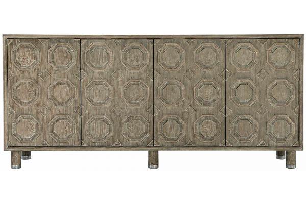 Large image of Bernhardt Alhambra Aspen Oak Credenza - 396-845