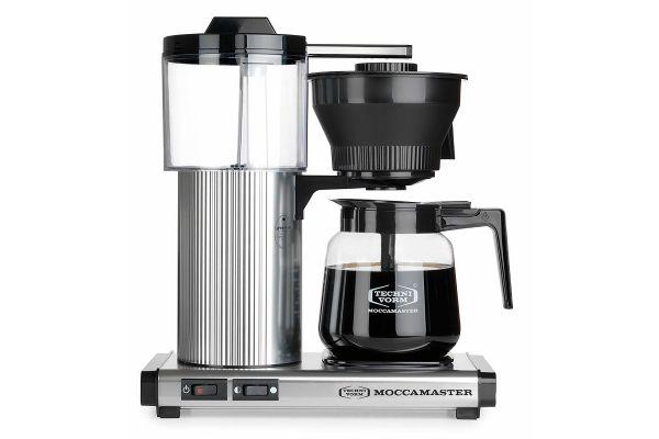 Large image of Technivorm Moccamaster CD Grand Brushed Silver Coffee Maker - 39730