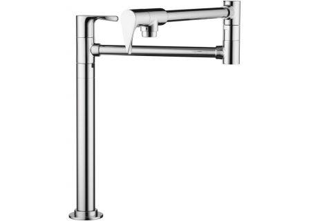Hansgrohe Axor Citterio Chrome Deck-Mounted Pot Filler - 39838001