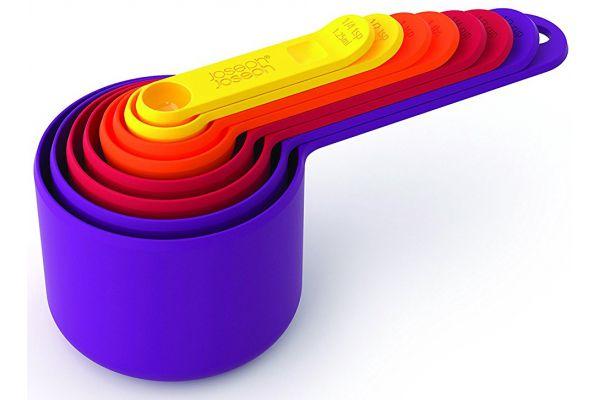 Large image of Joseph Joseph Multi-Color Nest Measuring Cup Set - 40016J