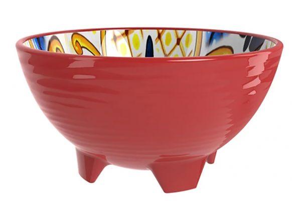 Large image of Prepara Red Taco Bowl - 4031R