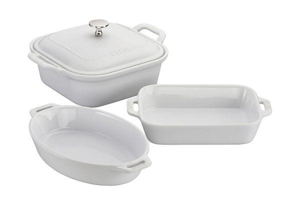 Zwilling J.A. Henckels Staub Ceramique White 4-Piece Baking Dish Set - 40508645