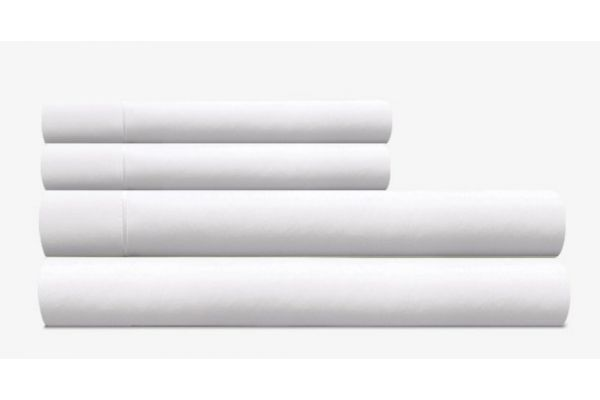 Tempur-Pedic Pima Cotton 310 Count White Split California King Sheet Set - 40606490