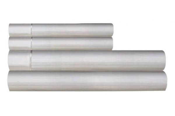 Large image of Tempur-Pedic Egyptian Cotton 420 Count Pale Dove Grey King Sheet Set - 40852370
