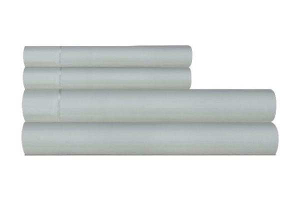 Large image of Tempur-Pedic Egyptian Cotton 420 Count Pale Green Full Sheet Set - 40852530