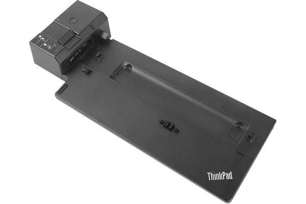 Large image of Lenovo Black ThinkPad Pro Docking Station - 40AH0135US